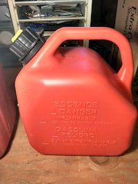 Red Gas Can Plastic $15.00