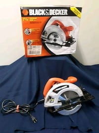 "Black and Decker 7 1/4"" circular saw Muncie, 47303"