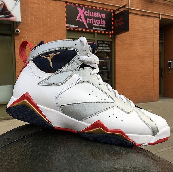 "cbb0b51449bd58 Used AIR JORDAN 7 RETRO ""OLYMPIC"" 2012 RELEASE SIZE  10.5 for sale in New  York - letgo"