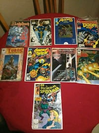assorted Marvel comic book collection Bell, 90201