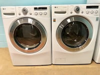 LG front load washer and electric dryer set Jessup, 20794