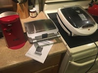 Can opener, George Foreman grill, waffle maker....everything works barely used Gulfport, 39507
