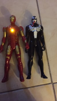 black and red action figures Hialeah, 33015