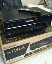 black and gray stereo amplifier Surrey, V3V 7Y4