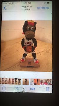 black and red bear plush toy Detroit, 48221