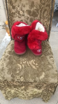 Plush UGG style boots , clean rarely worn