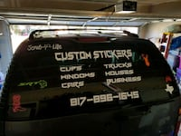 Stickers, decals,  Custom made wooden plaques Kennedale, 76060