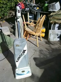 white and black Oreck upright vacuum cleaner Vallejo, 94589