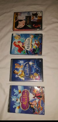 4 Set of Disney DVD's Manassas Park, 20111