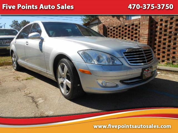Five Points Auto Sales >> Used 2008 Mercedes Benz S Class 5 5l V8 4matic For Sale In Decatur