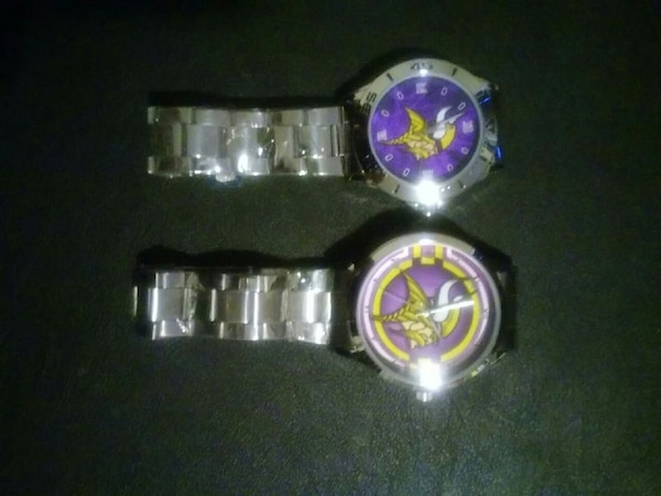 Used Vickings watches still in plastic $20 each for sale in