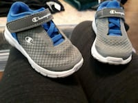 pair of gray-and-blue Nike shoes Agassiz, V0M 1A2