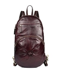 MANTIME PREMIER VIXO 11 INCH OIL WAX LEATHER BACKPACK