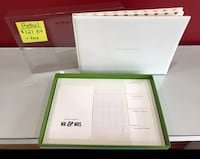 Kate Spade bridal for the mr. and Mrs. guestbook  Vaughan, L4L 8E7