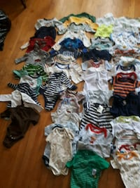 baby's assorted clothes 791 km