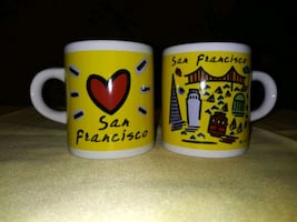 San Francisco mini mugs