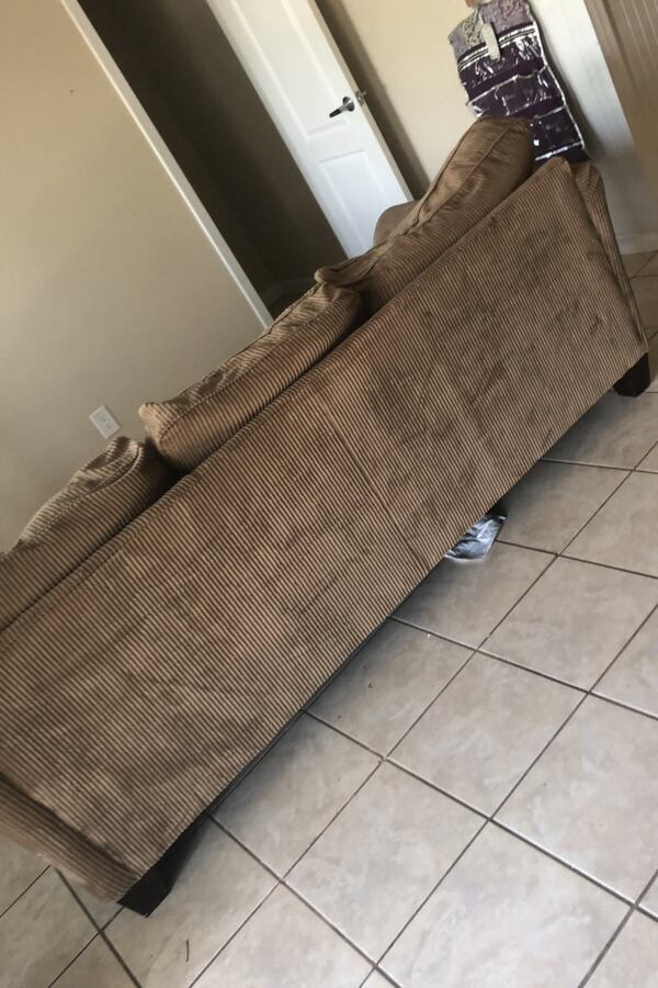 Couch and love seat- going to goodwill 9/25 a98be776-ddda-4ee1-859f-712d36cda019