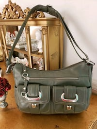 New Liz Claiborne Forest Green Crossbody handbag