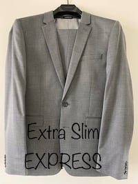 Extra Slim Express Grey Suit