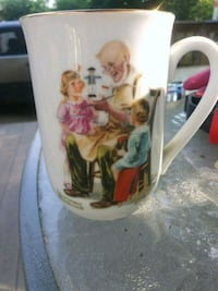 EXCELLENT NORMAN ROCKWELL PORCELAIN CUPS!!! Kalamazoo, 49048