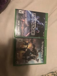 Xbox one titanfall 2 and star wars Battlefront 2 Surrey, V4N 6A7
