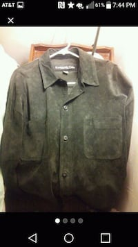 Leather Kenneth Cole shirt Marion, 46953