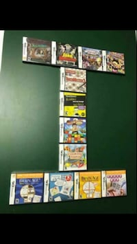 (12) Nintendo DS Games (SOLD AS ONE LOT)