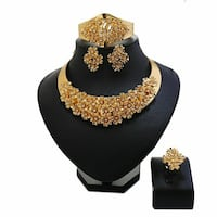 gold  jewelry set 3120 km