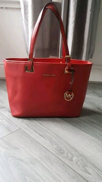 red Michael Kors leather tote bag Tyne and Wear, NE6 5AQ