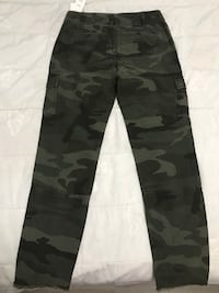Brand new army print Abercrombie and Fitch pants Ajax, L1S 2T7