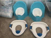 Potty Chair $8, Potty Ring $3, FREE Easy Ups Burke