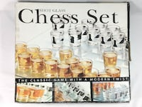 Shot Glass Chess Set MONTREAL