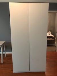 Modern His & Hers Custom IKEA 2 Level Dresser Rockville, 20850