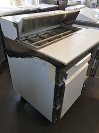 """36"""" commercial refrigerated prep table new never used Vancouver, V5V 3L6"""