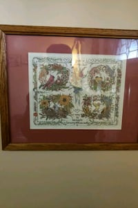 brown and white floral painting Hamilton, 45011