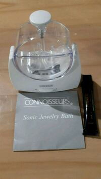 Connoisseurs Sonic Jewellery Bath Cleaner for Gold Aurora