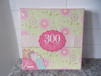 *New in Package* 300 count Scrapbook Paper Set Morinville
