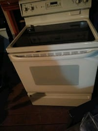 white and black induction range oven Pharr, 78577