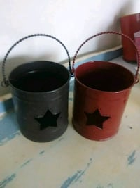 Two country star candle holders Riverside, 92504