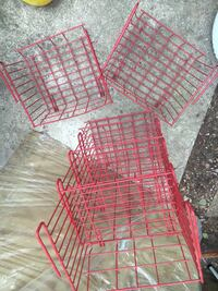 red metal folding dog crate Germantown, 20874