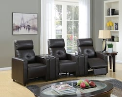 Britten Home Theater Chairs ** FREE DELIVERY** FINANCING AVAILABLE