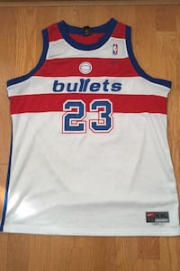 Vintage NIKE Michael Jordan Washington Bullets NBA Jersey Swingman XXL