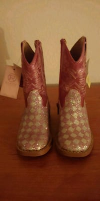 Girls Roper Cowgirl boots size 6 Goodyear, 85395