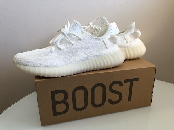 8a2f9556fb808 Brukt YEEZY BOOST 350 V2 – CREAM WHITE   SIZE 8.5