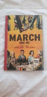 March Book One Sterling, 20164