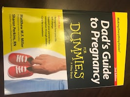"NEW Unread Book ""Dad's Guide to Pregnancy for Dummies"""