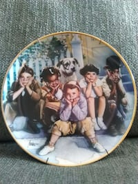 lonely kids decorative plate Fairplay, 21733