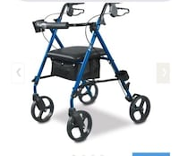 Hugo brand walker chair on wheels- gently used  Montréal, H9A