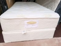 Single mattress + box  $120 delivery 30 Edmonton, T5Y 1Z2