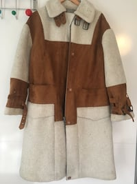 Asos Faux Shearling Coat size uk 10 London, N4 3RE